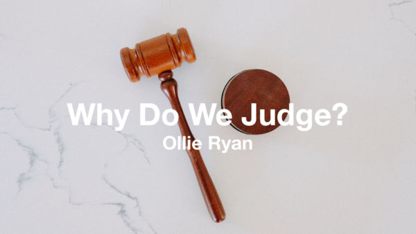 Why do we judge? Artwork image