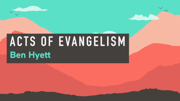 Acts from Acts series - 8/8 - Acts of Evangelism Artwork image