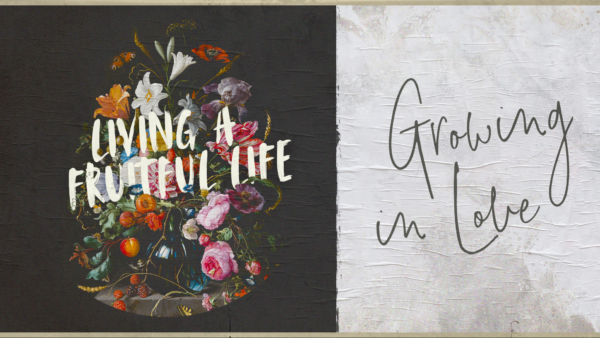 Living A Fruitful Life: Growing in Love Artwork image
