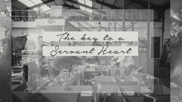 The key to a servant heart Artwork image