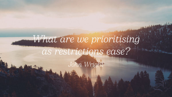 What Are We Prioritising As Restrictions Ease? Artwork image