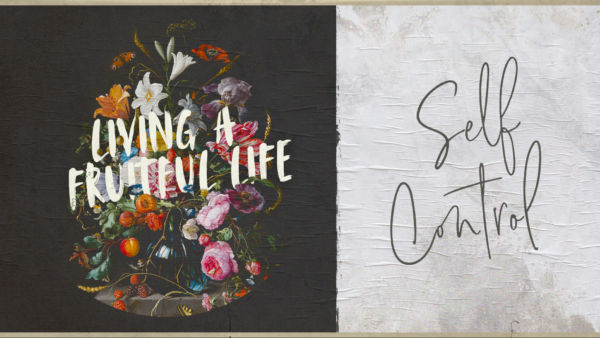 Living a Fruitful Life: Self Control Artwork image