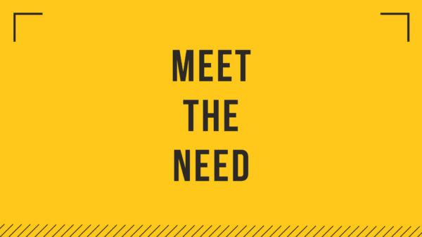 Third Service - Meet The Need