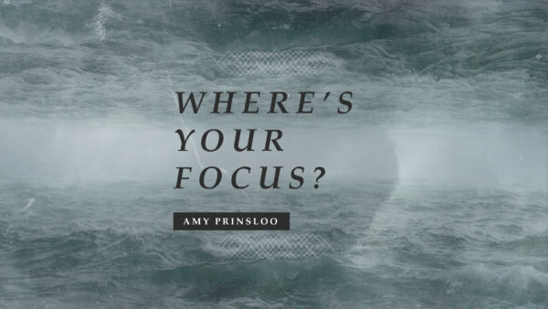 Where's your focus? Artwork image