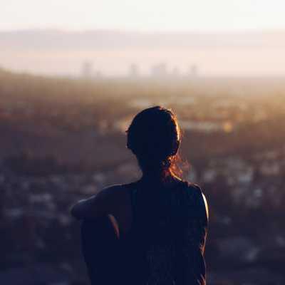 silhouette - landscape